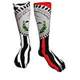 YOUPENG The Great Seal of The Navajo Nation Calcetines Deportivos Unisex de tacón Negro Grueso Medias hasta la Rodilla de 50 cm